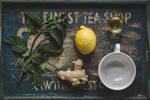 Имбирный медово-лимонный чай Клеопатры для похудения