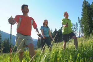 Скандинавская ходьба: шагаем спалками кстройности идолголетию