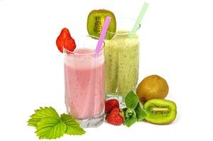Фруктово-овощные смузи для витаминного похудения