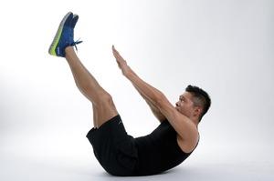 Эффективный мужской комплекс упражнений для похудения живота ибоков