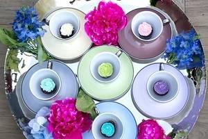 Цвет похудения— синий. Цвета, возбуждающие иснижающие аппетит